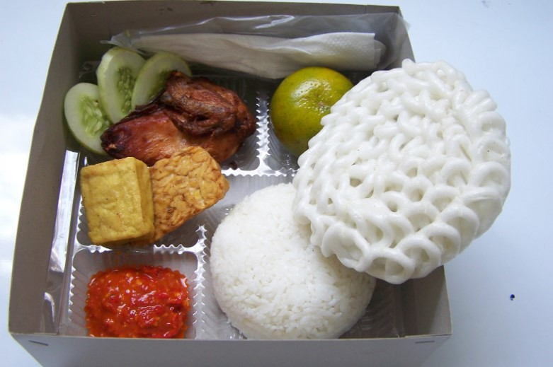 Paket nasi kotak Enrekang