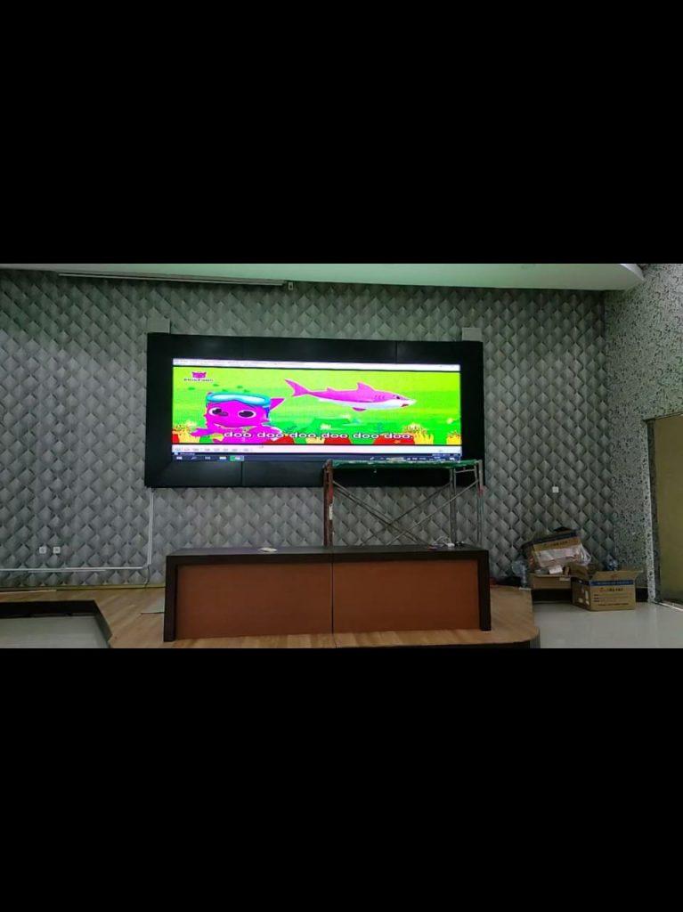 Gambar konstruksi videotron indoor